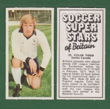 Derby County Colin Todd England 22